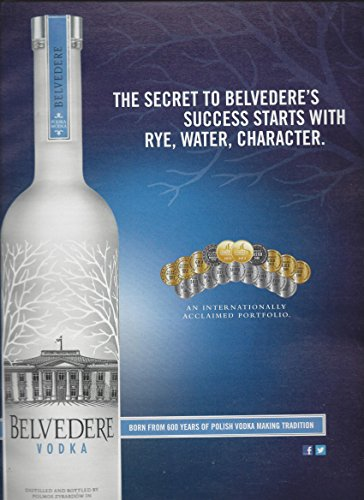 print-ad-for-belvedere-vodka-2013-the-secret-to-success-award-medallion-bottl