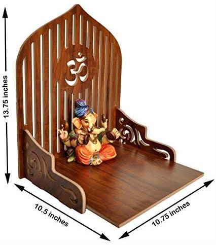 7CR Art and Craft Wooden Temple/Home Temple/Pooja Mandir/Pooja Mandap/Temple