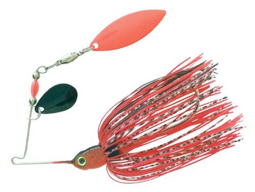 Tandem Spinner - BOOYAH Pond Magic - Red Ant - 3/16 oz - Tandem