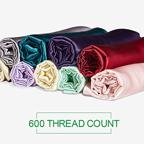 Yanibest Silk Pillowcase For Hair And Skin 600 Thread