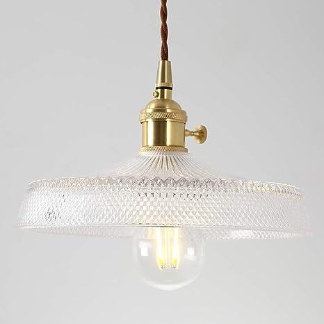 Amazon.com: IJ INJUICY - Lámpara de techo de cristal nórdico ...