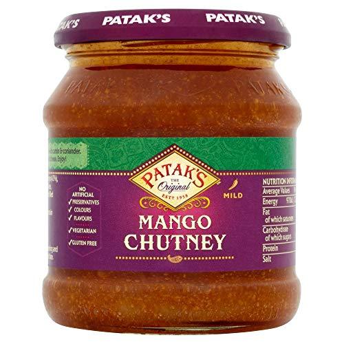 Pataks   Mango Chutney   6 x 340 g