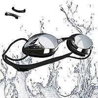 Swimming Goggles—Vetoky Mirrored Swim Goggle Anti Fog UV...