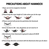 Foho Camping Parachute Silk Double Hammock