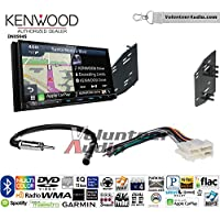 Volunteer Audio Kenwood Excelon DNX994S Double Din Radio Install Kit with GPS Navigation Apple CarPlay Android Auto Fits 1990-1996 Chevrolet Corvette