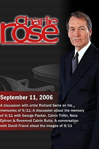 Charlie Rose with Richard Serra; George Packer, Calvin for sale  Delivered anywhere in USA