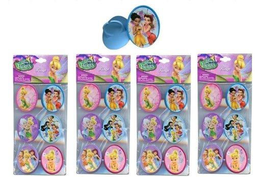 Disneys Tinkerbell Cake - Disney Tinkerbell Fairies 24 pc Cupcake Topper Rings
