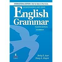 Understanding & Using Engl Grammar Internat'l Sb W/AK & Audiocd