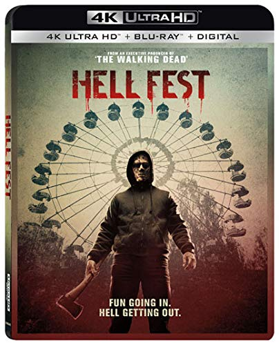 4K Blu-ray : Hell Fest (With Blu-ray, 4K Mastering, 2 Pack, Subtitled, Dolby)