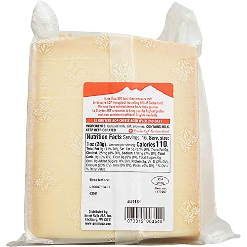 Emmi Expect More Roth Le Gruyere Switzerland Cheese