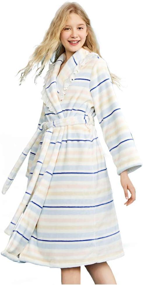 WX-ICZY De Las Mujeres del camisón de la Franela, algodón camisón ...