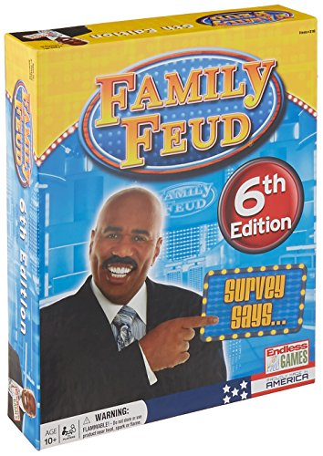 Endless Games Family Feud 6th Edition (Endless Board Games Game)
