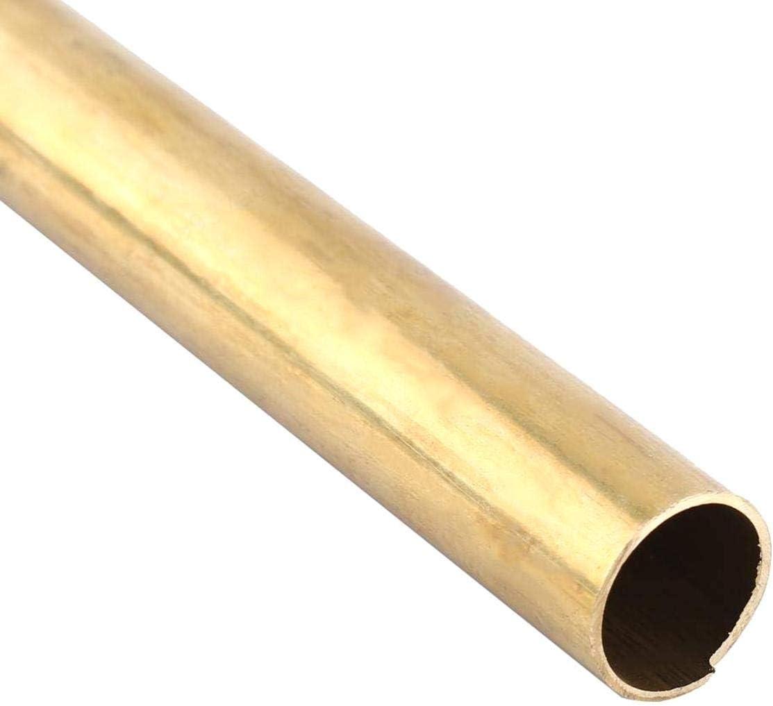 10 mm 6-20 mm Zeen 1 Tube en Laiton de 50 cm de Long de 1 mm d/épaisseur de paroi en Laiton pour Fabrication de mod/èle