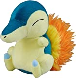 "Pokemon Diamond & Pearl Plush Stuffed Toy - 7"" Cyndaquil"