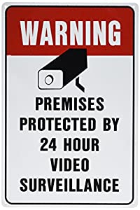photo about Video Surveillance Signs Printable named household indications -