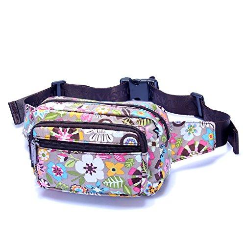 Carteras de damas/Pecho de deportes al aire libre con estilo Pack/bolsa impermeable/paquete de ocio-19 4