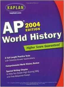 Kaplan AP World History 2004: Kaplan: 9780743252096 ...