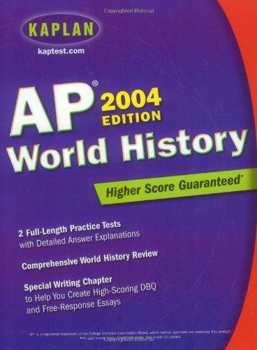 Download Kaplan AP World History 2004 book pdf | audio id