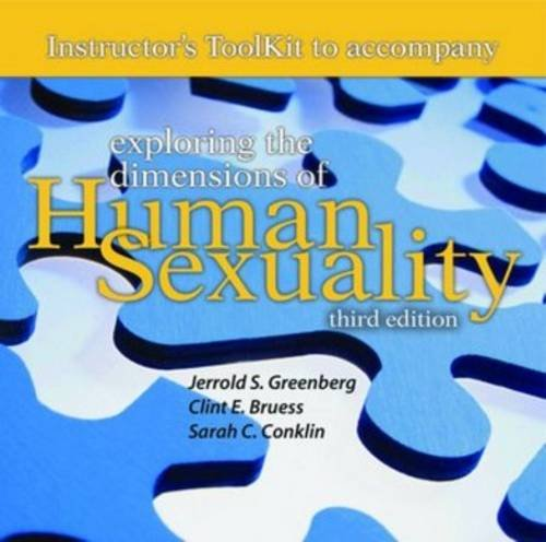 Itk- Explor Dimen Human Sexuality 3e Instructor Toolkit by Jones & Bartlett Publishers