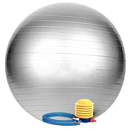 WINOMO Exercice Balle Anti Burst Testé Ballon de Yoga Stabilité Stabilité 65cm pour Fitness