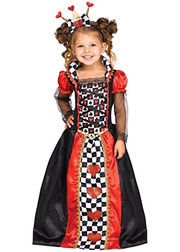 Little Girls' Queen of Hearts Toddler Costume]()