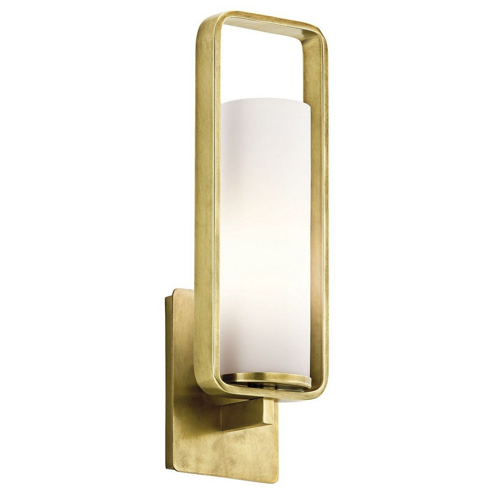 Kichler 43787NBR One Light Wall Sconce by Kichler