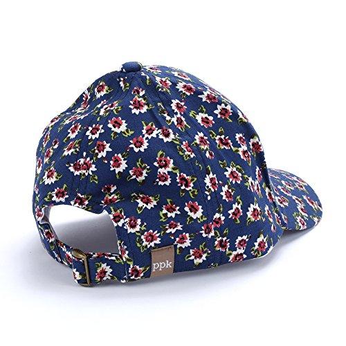 032c50dc8cb70b Jual Peppercorn Kids Girls Baseball Cap-Vintage Floral-Navy-M (2-6y ...