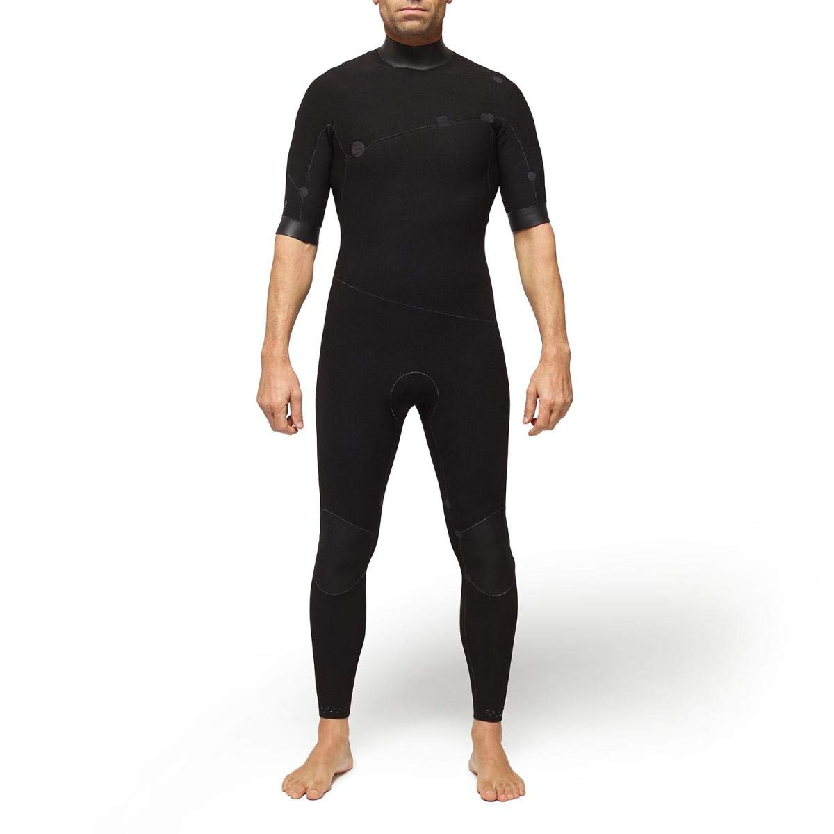 DEEPLY Traje DE Surf Hombre Premium 2/2 ZIPPERLESS Short Sleeves: Amazon.es: Deportes y aire libre