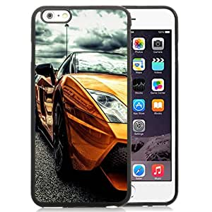 New Fashionable Designed For iPhone 6 Plus 5.5 Inch Phone Case With Gold Lamborghini Phone Case Cover