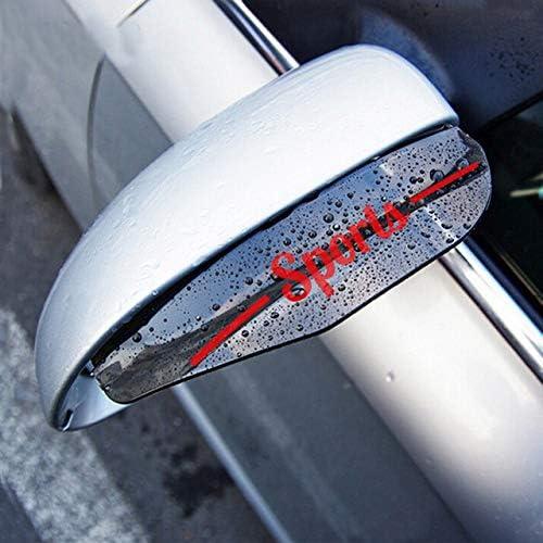 Muchkey Auto Spiegel Augenbrauen Regenschutz PVC-Kunststoff R/ückspiegel Regenschutz F/ür Discover Sport 2 St/ück