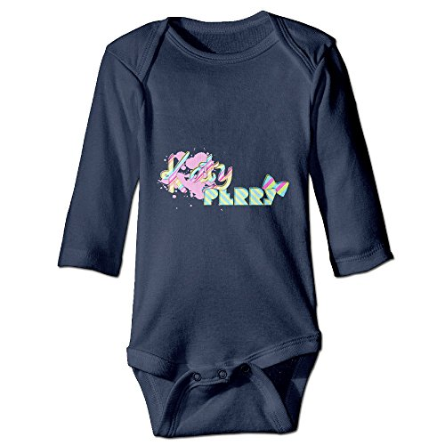 Katy Perry Outfits For Kids (Unisex Baby Navy Long Sleeve Katy Perry Outfits Babysuits)