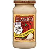 Classico Roasted Red Pepper Alfredo Sauce, 15 Ounce