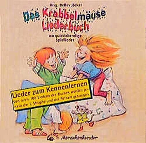 Das Krabbelmäuse Liederbuch. 100 quicklebendige Spiellieder für die Kleinen: CompactDisc