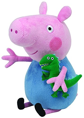 Ty Peppa Pig George - Peluche, Peppa le cochon, Peppa Large, 28 cm TY UK Ltd 8246