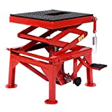 300lb Motorcycle Hydraulic Scissor Floor Jack Lift Hoist Center Stand Lift