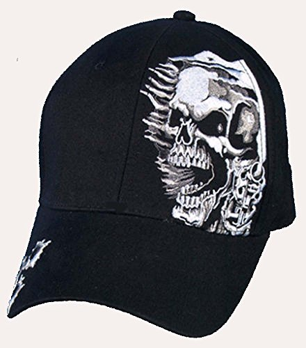 Assassin outlaw harley rider mc BALL CAP HAT by -