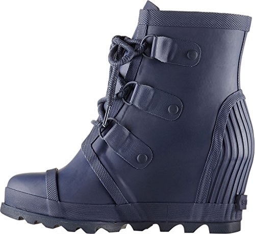 Nocturnal Wedge 11 Rain Joan Sorel Women's Boot Black q1g4UU