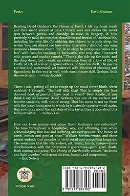 The Honey of Earth: David Graham, Diane Lockward
