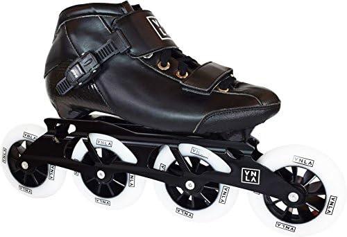 VNLA X1 Roller Skate Blades Adult Roller Skate Blades Women – Adjustable Inline Skates for Women – Patines Roller Skate Blade – Roller Skate Blades Men Black