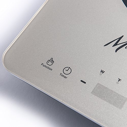 Morning Star MS-151 Induction Cooktop, Portable Countertop Burner, Ultra-Thin Design, Rapid Heat Technology, Auto-Pan Detection, Sleek Metallic Silver Color by Morning Star (Image #4)