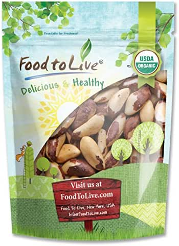 Nuts & Seeds: Food To Live Brazil Nuts