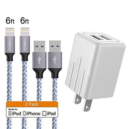 iphone charger with plug - 4