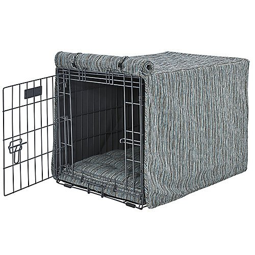 Image of Pet Supplies Bowsers Teaka Luxury Dog Crate Cover