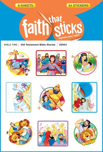 Old Testament Bible Stories (Faith That Sticks Stickers)