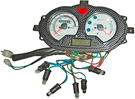 Xfight-Parts Tachometer komplett 0-140 km//h 4Takt 125ccm YY125T-28 Jonway IMOLA 125