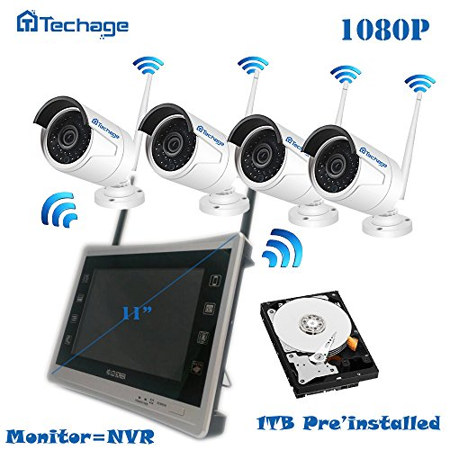 Techage Security Waterproof 1tb Preinstalled product image