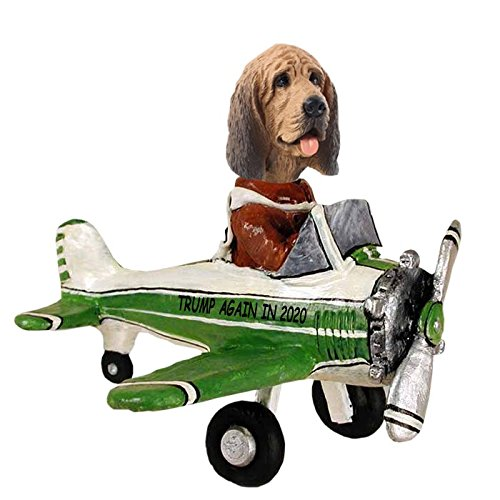 Bloodhound Airplane Doogie Collectible Figurine