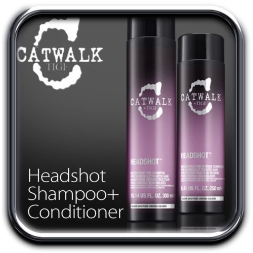 Tigi Catwalk Headshot Shampoo 10.14 oz & Conditioner 8.45 (Tigi Catwalk Head Shot)