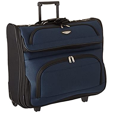 Travel Select Amsterdam Business Rolling Garment Bag, Navy, One Size