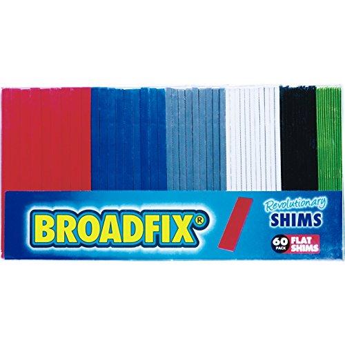 Plastic Shim Stock - Broadfix Revolutionary Flat Shims (1, 60)